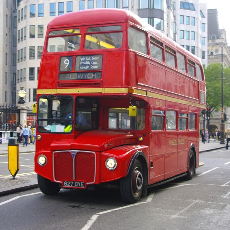 old London bus 01